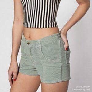 American Apparel Corduroy Shorts